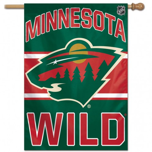 Minnesota Wild Banner 28x40 - Special Order