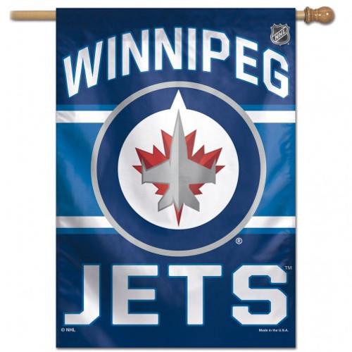 Winnipeg Jets Banner 28x40 Vertical - Special Order