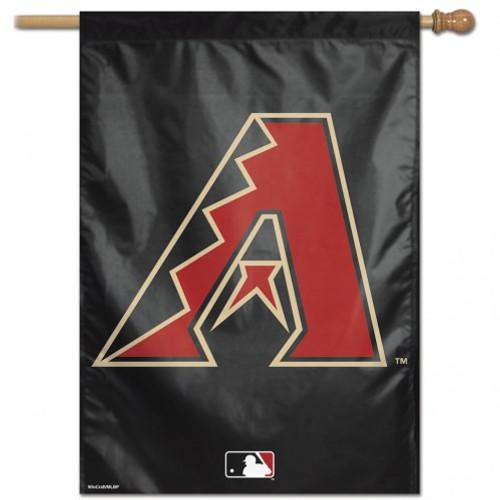 Arizona Diamondbacks Banner 28x40 Vertical Logo Design - Special Order