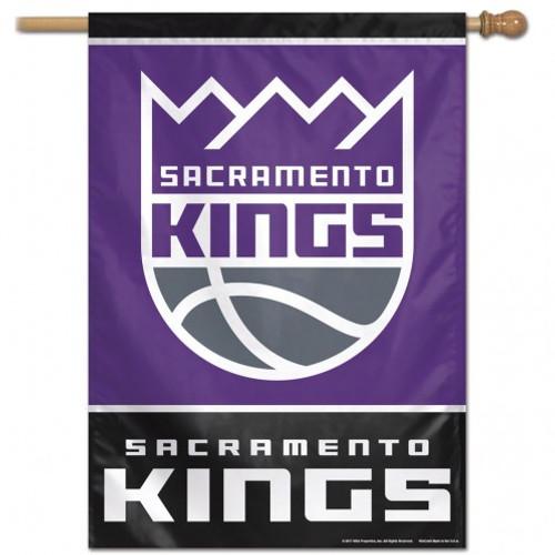 Sacramento Kings Banner 28x40 Vertical - Special Order