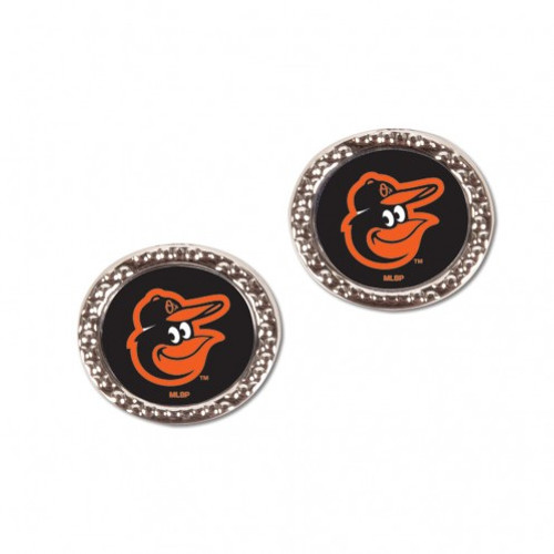 Baltimore Orioles Earrings Post Style - Special Order