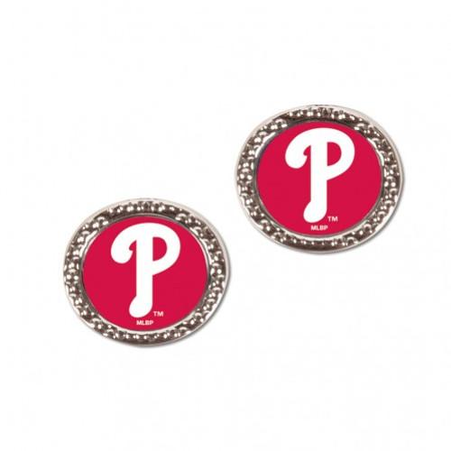 Philadelphia Phillies Earrings Post Style - Special Order