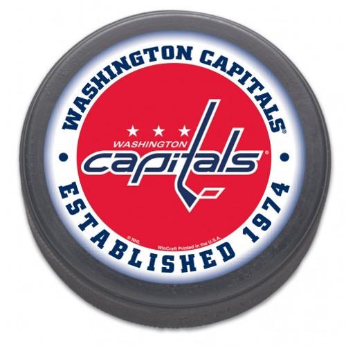 Washington Capitals Hockey Puck - Est 1974 (Bulk) - Special Order