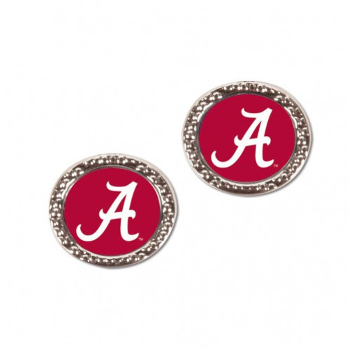 Alabama Crimson Tide Earrings Post Style - Special Order