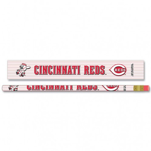 Cincinnati Reds Pencil 6 Pack Special Order