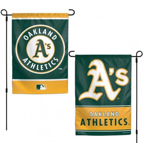 Oakland Athletics Flag 12x18 Garden Style 2 Sided