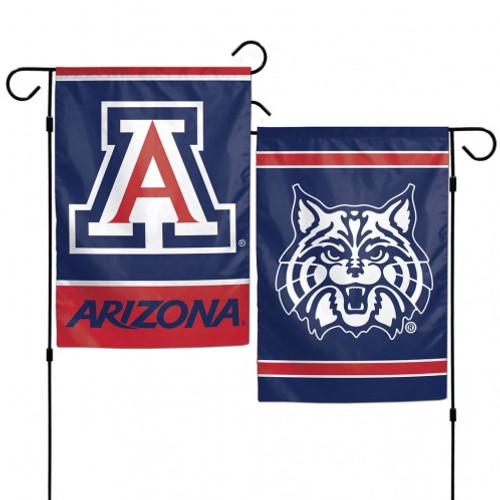 Arizona Wildcats Flag 12x18 Garden Style 2 Sided - Special Order