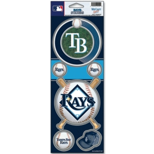 Tampa Bay Rays Stickers Prismatic - Special Order