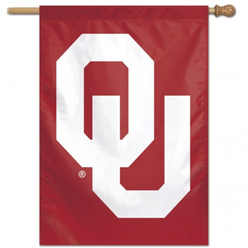 Oklahoma Sooners Banner 28x40 Vertical - Special Order