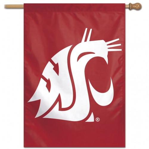 Washington State Cougars Banner 28x40 Vertical Alternate Design - Special Order