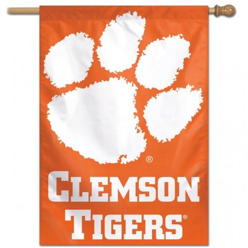 Clemson Tigers Banner 28x40 Vertical Second Alternate Design - Special Order