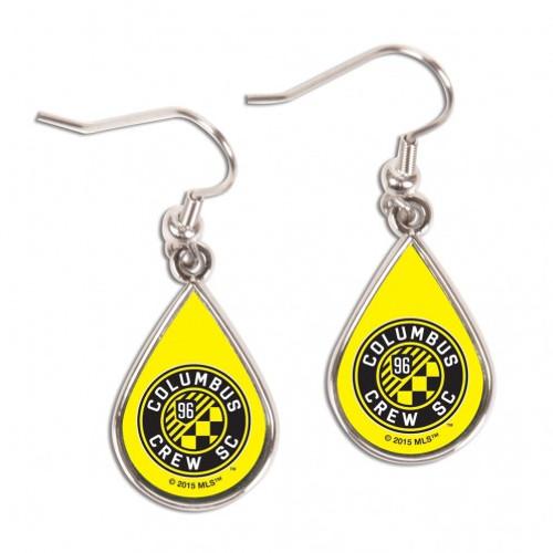 Columbus Crew SC Earrings Tear Drop Style - Special Order