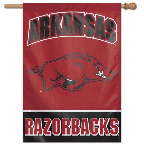 Arkansas Razorbacks Banner 28x40 Vertical - Special Order