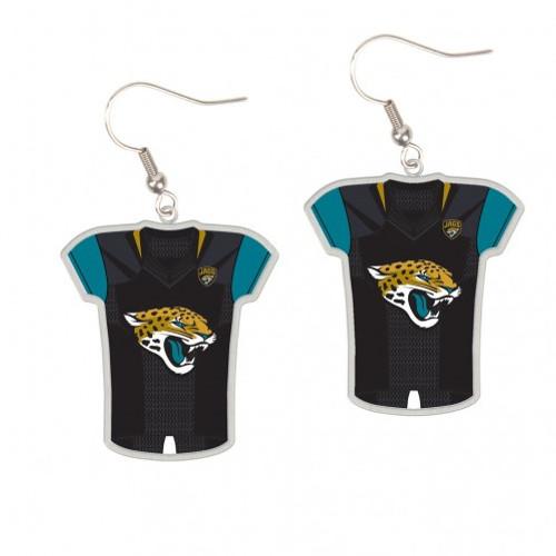 Jacksonville Jaguars Earrings Jersey Style - Special Order