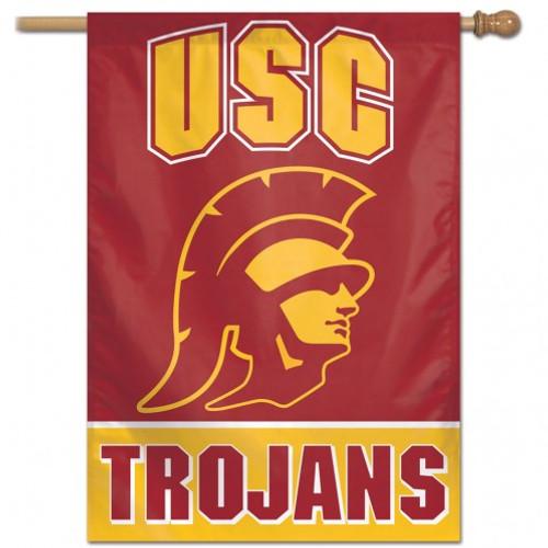 USC Trojans Banner 28x40 Vertical Alternate Design - Special Order