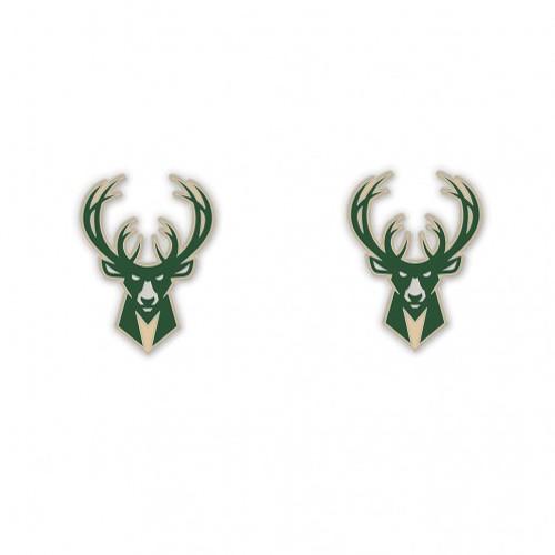 Milwaukee Bucks Earrings - Wincraft - Special Order