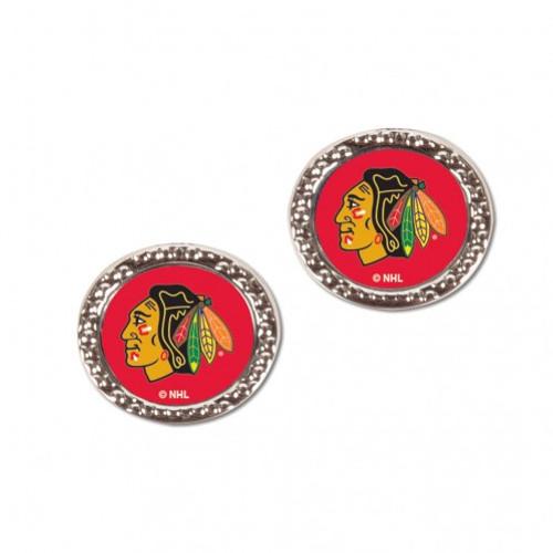 Chicago Blackhawks Earrings Post Style - Special Order