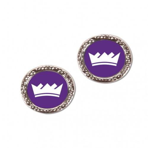 Sacramento Kings Earrings Post Style - Special Order