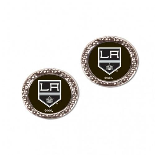 Los Angeles Kings Earrings Post Style - Special Order