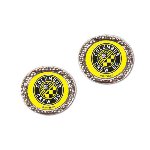 Columbus Crew SC Earrings Post Style - Special Order