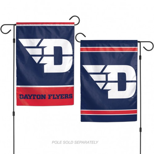 Dayton Flyers Flag 12x18 Garden Style 2 Sided - Special Order