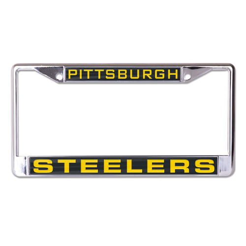 Pittsburgh Steelers License Plate Frame - Inlaid - Special Order