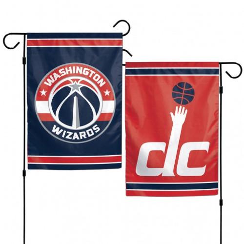 Washington Wizards Flag 12x18 Garden Style 2 Sided - Special Order