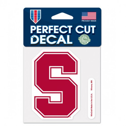 Stanford Cardinal Decal 4x4 Perfect Cut Color