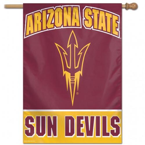 Arizona State Sun Devils Banner 28x40 Vertical