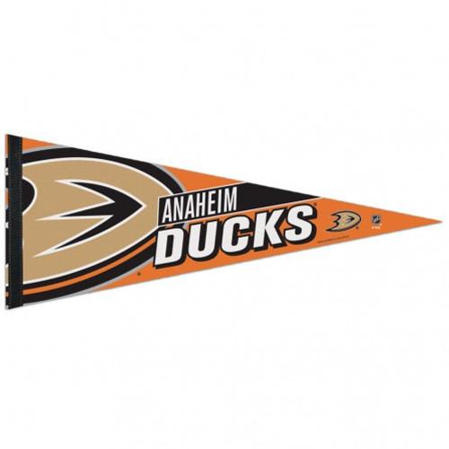 Anaheim Ducks Pennant 12x30 Premium Style - Special Order