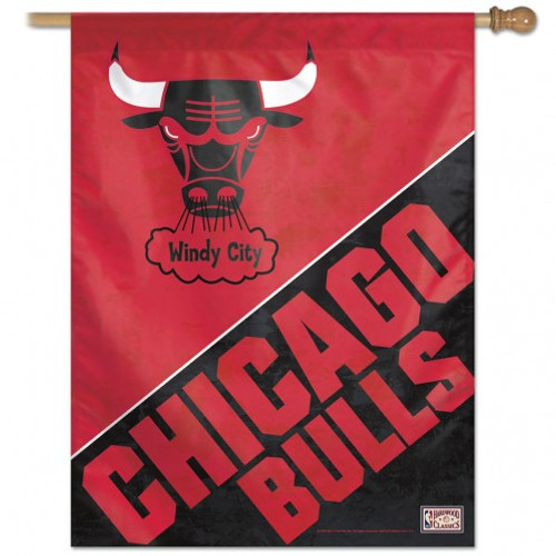 Chicago Bulls Banner 28x40 Vertical - Special Order