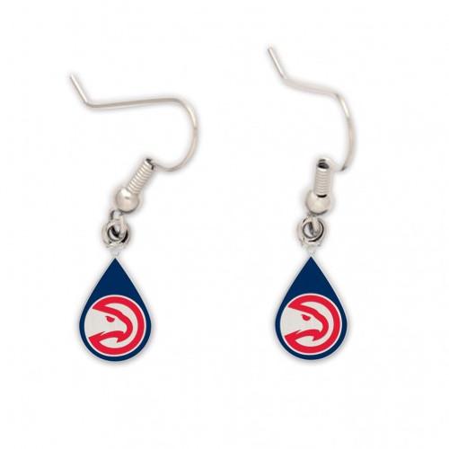 Atlanta Hawks Earrings Tear Drop Style - Special Order