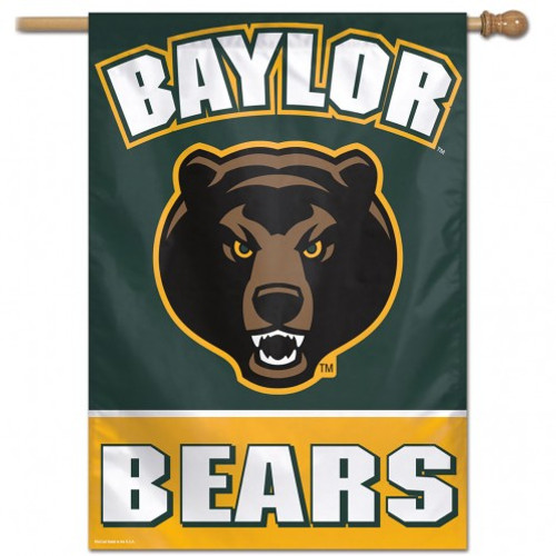 Baylor Bears Banner 28x40 Vertical - Special Order