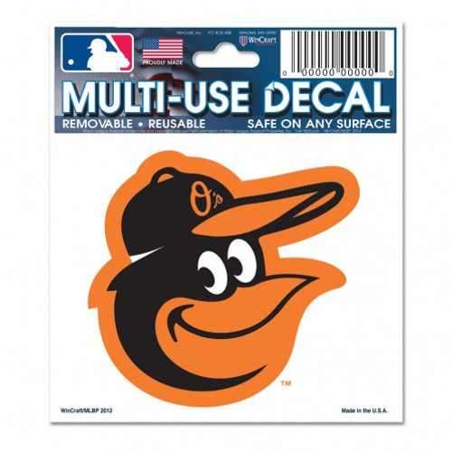 Baltimore Orioles Decal 3x4 Multi Use