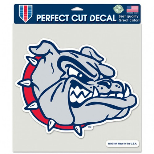 Gonzaga Bulldogs Decal 8x8 Color - Special Order