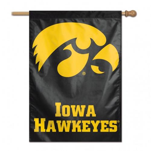 Iowa Hawkeyes Banner 28x40 Vertical Second Alternate Design - Special Order