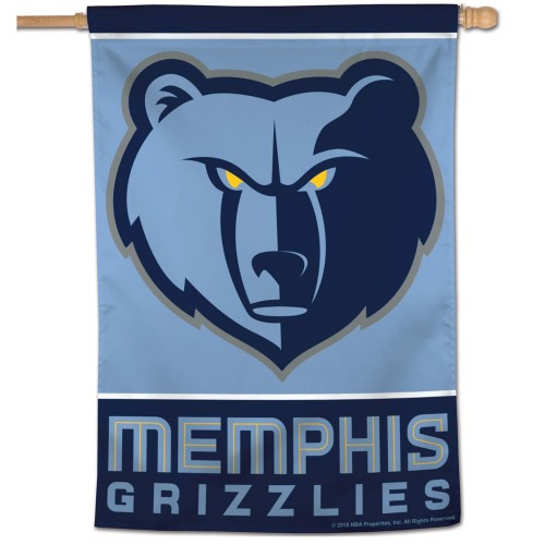 Memphis Grizzlies Banner 28x40 Vertical
