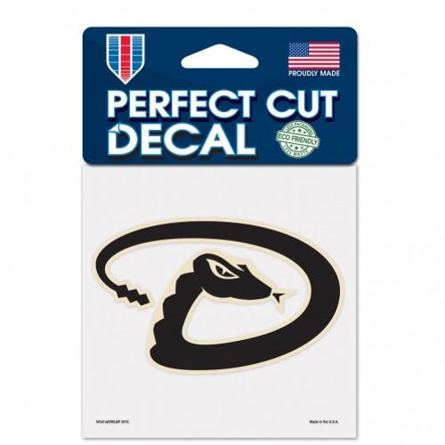 Arizona Diamondbacks Decal 4x4 Perfect Cut Color - Special Order