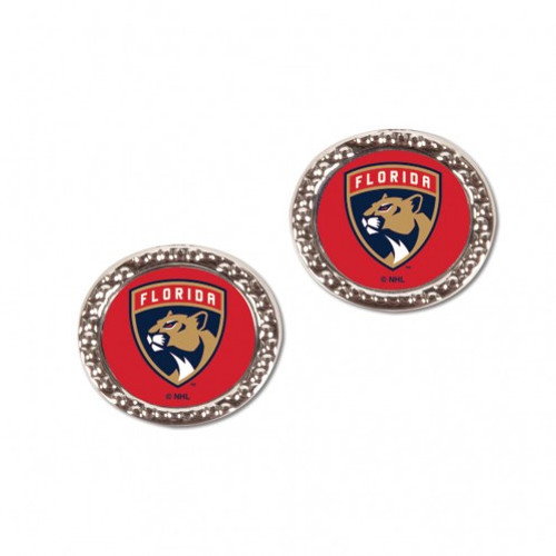 Florida Panthers Earrings Post Style - Special Order