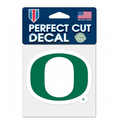 Oregon Ducks Decal 4x4 Perfect Cut Color