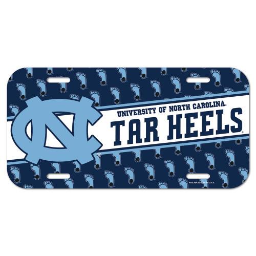 North Carolina Tar Heels License Plate - Special Order
