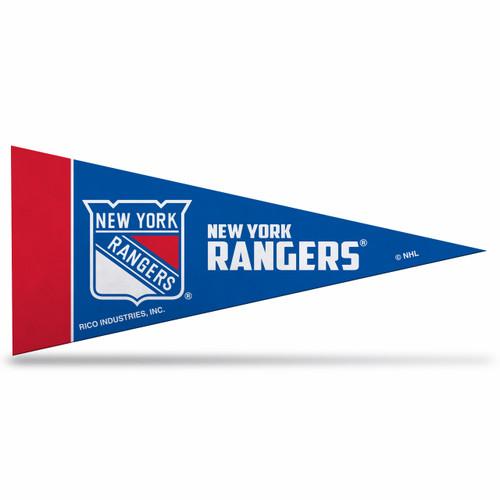 New York Rangers Mini Pennants - 8 Piece Set - Special Order