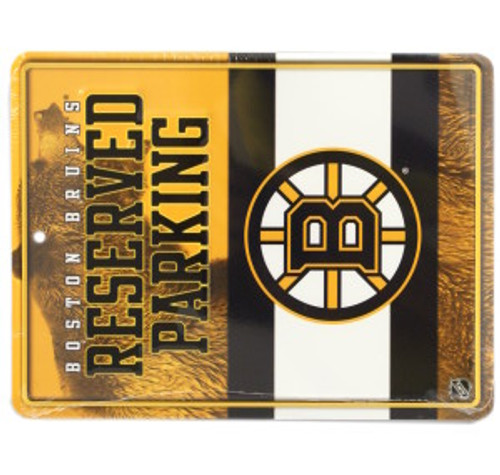 Boston Bruins Metal Parking Sign - Special Order