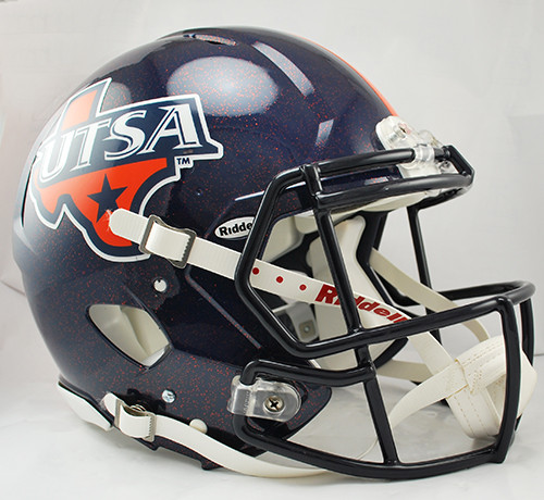 Texas San Antonio Roadrunners Helmet - Riddell Authentic Full Size - Speed Style - Special Order
