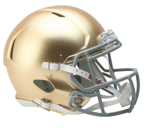 Notre Dame Fighting Irish Helmet - Riddell Authentic Full Size - Speed Style - 2016 HydroFx - Special Order
