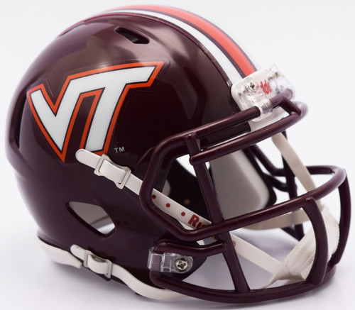 Virginia Tech Hokies Helmet - Riddell Replica Authentic - Speed Style - 2016 - Special Order