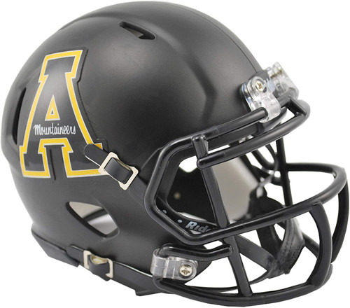 Appalachian State Mountaineers Helmet - Riddell Replica Mini - Speed Style - Special Order