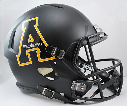 Appalachian State Mountaineers Helmet - Riddell Replica Full Size - Speed Style - Special Order
