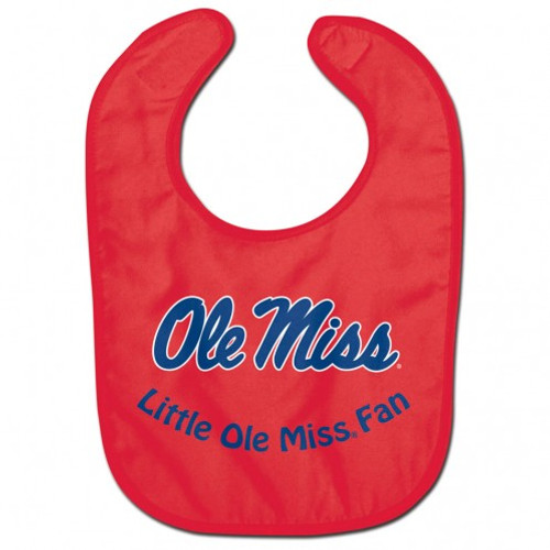 Mississippi Rebels Baby Bib - All Pro Little Fan