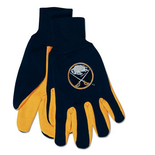 Buffalo Sabres Two Tone Gloves - Adult - Special Order